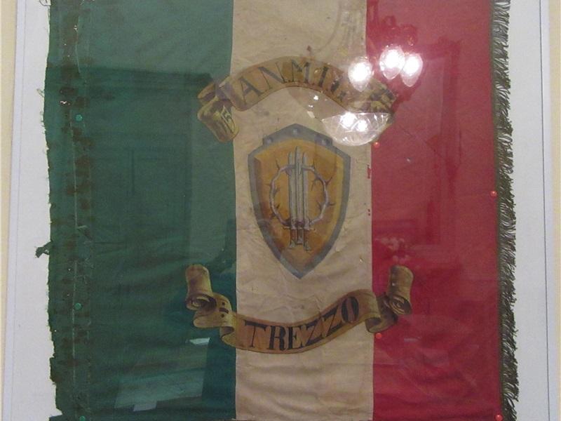 Primo stendardo Associazione Mutilati e Invalidi di guerra, 1919