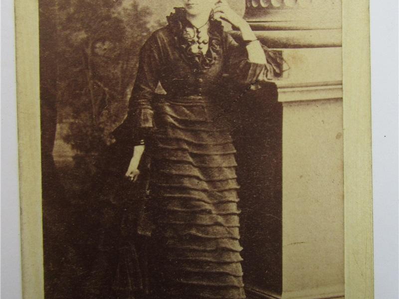 Margherita Trotti Bentivoglio Bassi, 1860ca