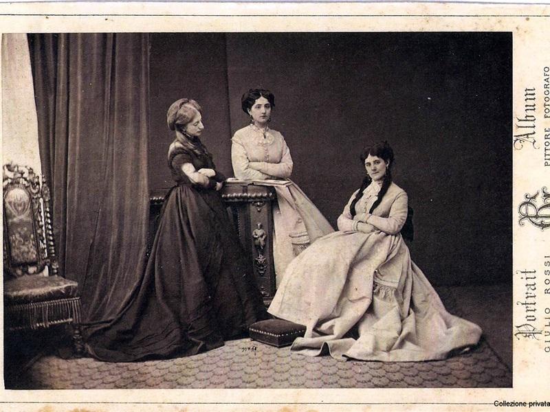Margherita Trotti Bassi, Giulia Uboldi de Capei e Vittoria Manzoni