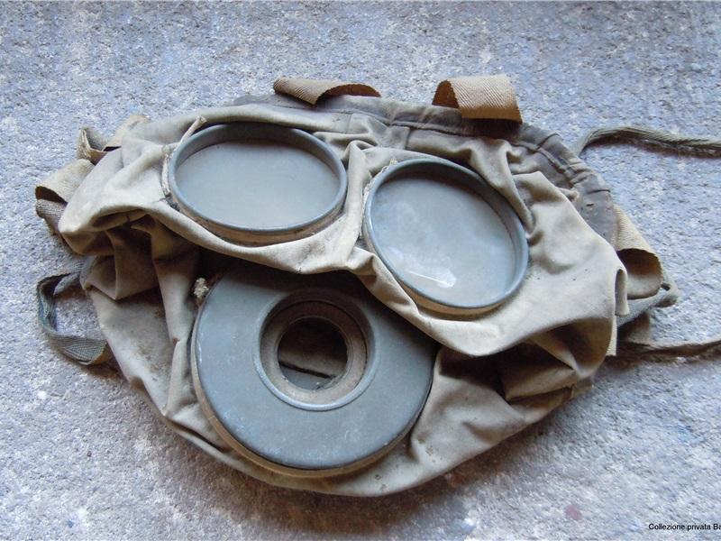 Maschera antigas tedesca da fanteria GUMMIMASKE M15, 1915