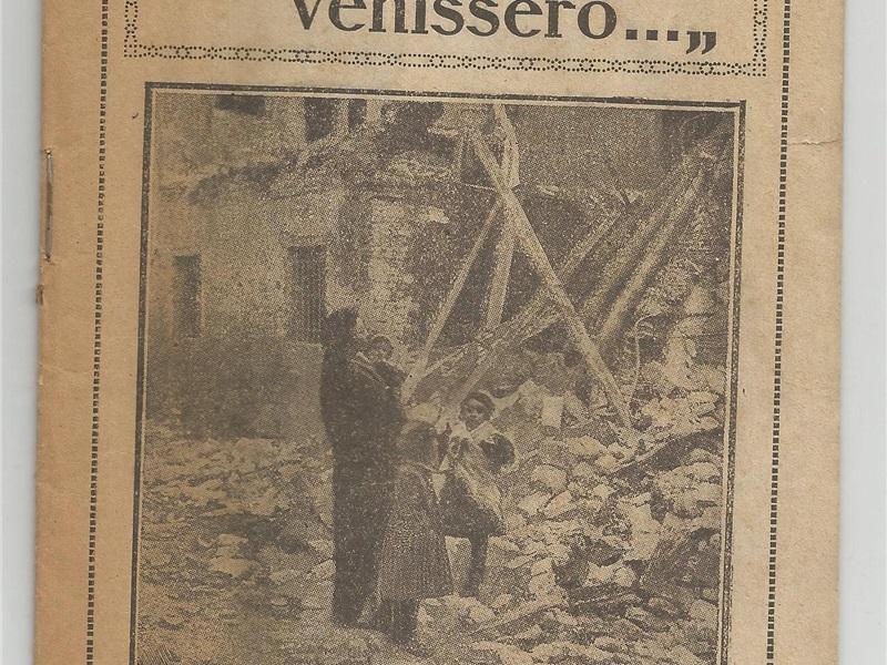 Libretto di propaganda 'Se i tedeschi venissero...'